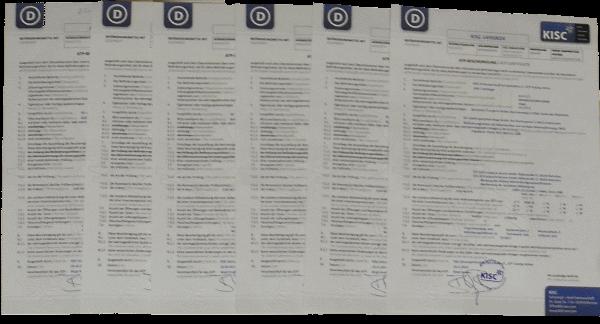 KISC Zertifikat